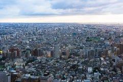 Vista aerea di Shinjuku, Tokyo, Giappone, immagine stock
