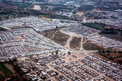 Vista aerea di SLP fotografie stock libere da diritti