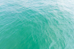 Vista aerea di superficie del mare Immagini Stock Libere da Diritti