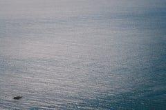 Vista aerea di superficie del mare Fotografia Stock