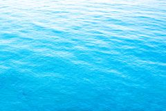 Vista aerea di superficie del mare immagini stock