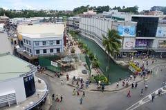 Vista aerea di Suva Fij fotografie stock