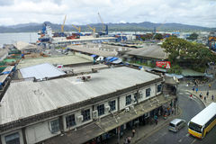 Vista aerea di Suva Fij fotografia stock libera da diritti