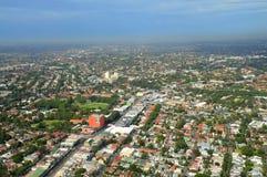 Vista aerea di Sydney Immagini Stock Libere da Diritti
