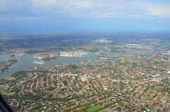 Vista aerea di Sydney Fotografia Stock
