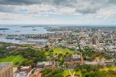 Vista aerea di Sydney - l'Australia Fotografie Stock