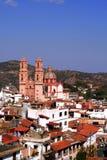 Vista aerea di Taxco Fotografia Stock Libera da Diritti