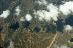 Vista aerea di terra Fotografie Stock