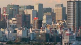 Vista aerea di Tokyo stock footage