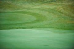 Vista aerea di un terreno da golf Immagine Stock Libera da Diritti
