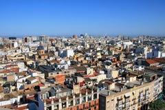 Vista aerea di Valencia Immagini Stock Libere da Diritti