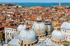 Vista aerea di Venezia, Italia Immagini Stock