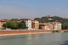 Vista aerea di Verona L'Italia Immagine Stock