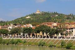 Vista aerea di Verona L'Italia Fotografia Stock Libera da Diritti