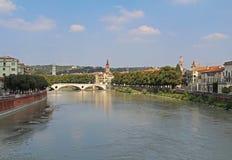 Vista aerea di Verona L'Italia Immagini Stock Libere da Diritti