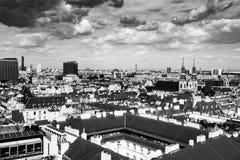 Vista aerea di Vienna fotografie stock