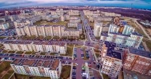 Vista aerea di Vilnius Immagini Stock