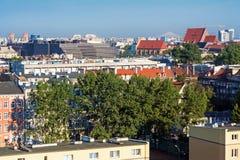 Vista aerea di Wroclaw Immagini Stock