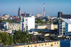 Vista aerea di Wroclaw Immagine Stock