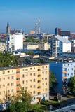 Vista aerea di Wroclaw Fotografie Stock