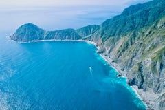 Vista aerea di Wushihbi fotografie stock libere da diritti