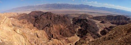 Vista aerea scenica in montagne di Eilat Immagini Stock