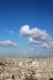 Vista aerea sopra Aleppo, Siria Immagini Stock Libere da Diritti