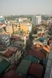 Vista aerea su Hanoi Fotografie Stock