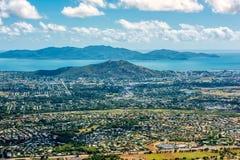 Vista aerea a Townsville fotografie stock