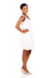 Vista afro-americano da mulher Fotografia de Stock