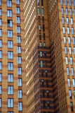 Vista agli edifici per uffici Immagine Stock
