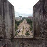 Vista agradável à estrada Fotografia de Stock Royalty Free