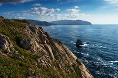 Vista agradável da baía por nome Krakovka Imagens de Stock