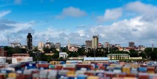 vista agradável de conakry fotos de stock royalty free