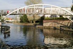 Vista agradável em Bydgoszcz, Poland. Fotos de Stock Royalty Free