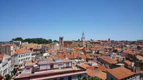 Vista agradável em Perpignan Imagens de Stock Royalty Free