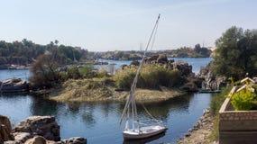 Vista agradável a Nile River imagem de stock royalty free