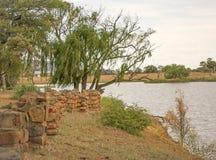 Vista agradável sobre a água Imagem de Stock Royalty Free