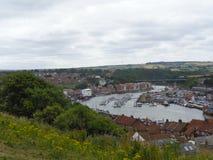 vista agradable a una bahía en Inglaterra foto de archivo libre de regalías