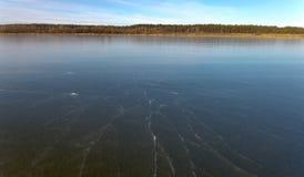 Vista al aire libre de congelado Foto de archivo libre de regalías