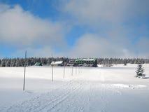 Vista al bouda del ¡ del aÅ™skà del ¾ di LyÅ Immagini Stock
