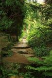 Vista al giardino segreto Immagine Stock