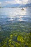 Vista al lago Obersee Fotos de archivo libres de regalías