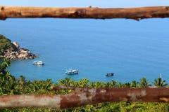 Vista al mar Imagenes de archivo