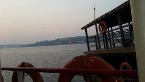 Vista al mar de Goa foto de archivo