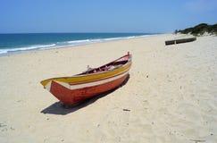 Vista al mar en África imagen de archivo