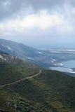 Vista al Mar Mediterraneo Immagini Stock