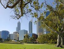 Vista al Midtown Perth Fotografie Stock Libere da Diritti