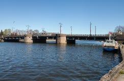 Vista al puente Foto de archivo