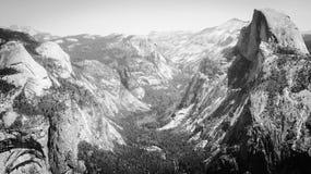 Vista al punto del ghiacciaio Fotografia Stock Libera da Diritti